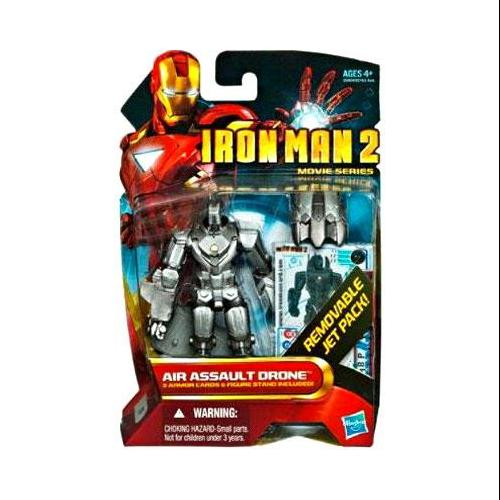 Iron Man Movie Series Air Assault Drone Action Figure