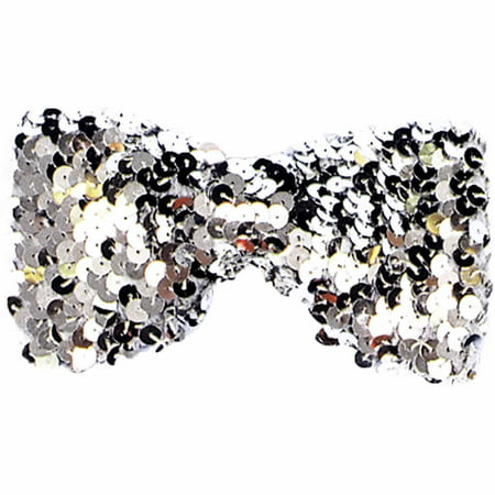 Sequin Bow Tie Adult Halloween Accessory - Bow Street Mall Halloween