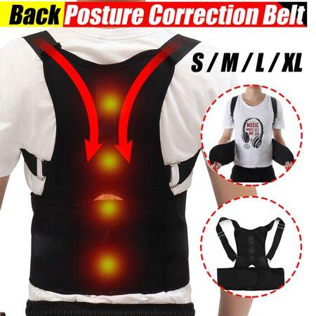 Magnetic Lower Back Flex Pad (Adjustable Therapy Magnetic Back Waist Support Posture Corrector Belt Band Brace Shoulder Lumbar & Lower Back Support Belt Brace Strap Pain Relief Posture Waist Trimmer)