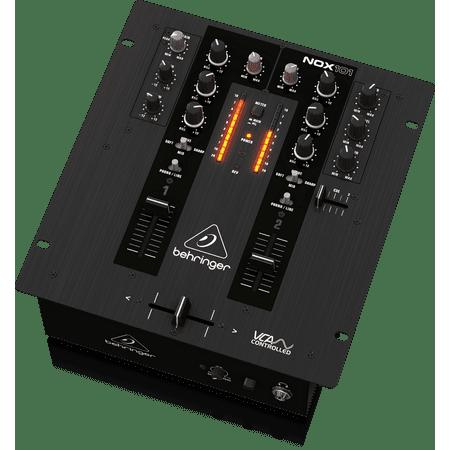 Behringer Pro Mixer NOX101 Premium 2-Channel DJ Mixer w/ Full VCA-Control & Ultraglide Crossfader (Dj Qbert Mixer)