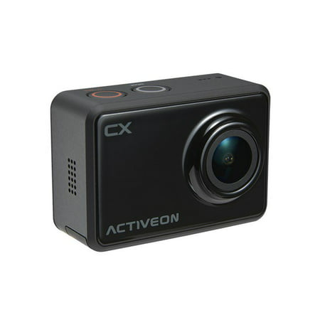 ACTIVEON CX Action Camera (1080p 30fps, 5MP CMOS Sensor) - LCD - Waterproof Housing -