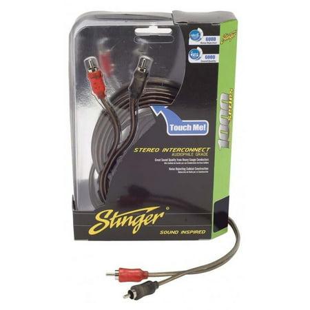 Stinger 15ft 1000 Series 2ch Coaxial Rca - image 1 de 1