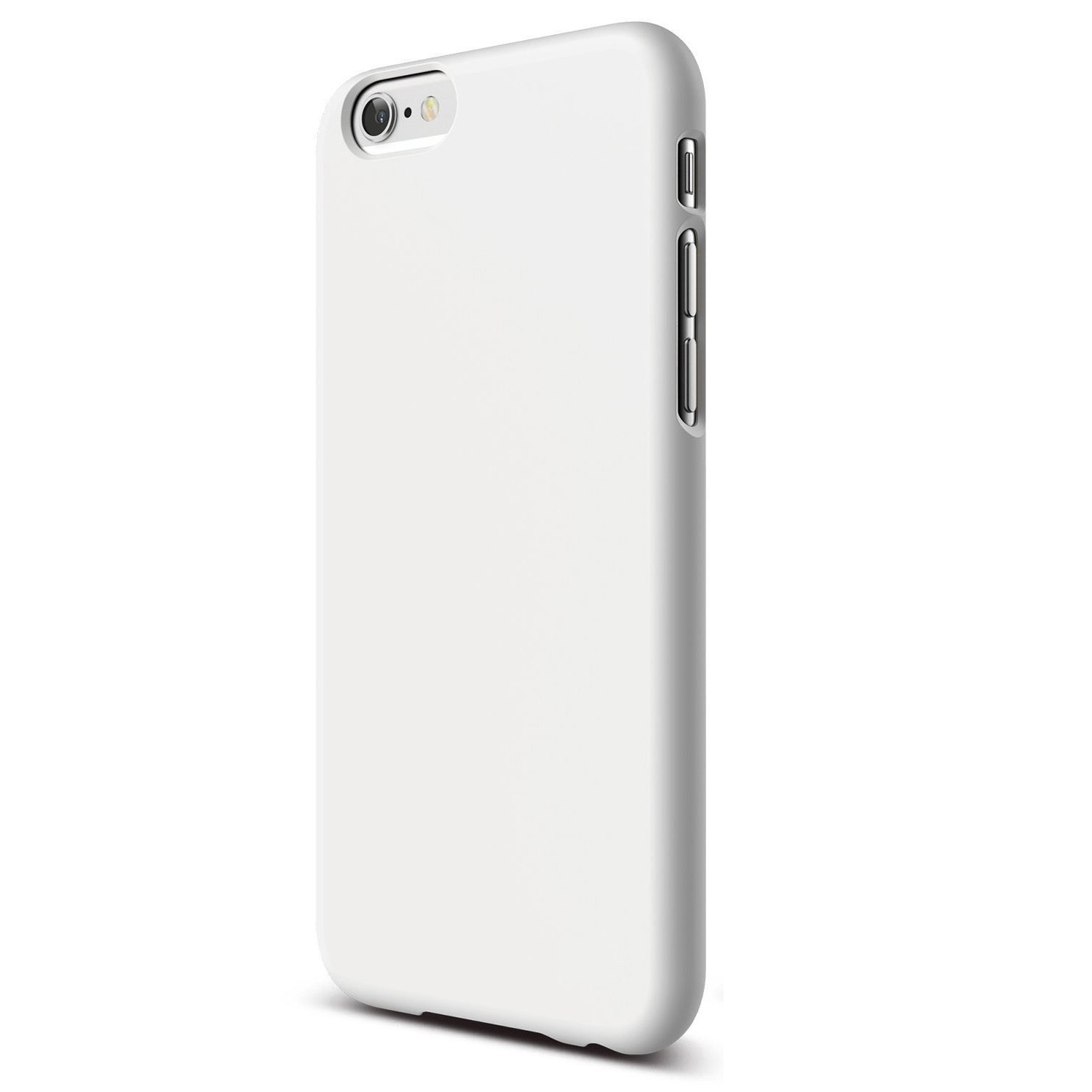 big sale 5fe72 a5ce1 CUSTOM White Hard Plastic Snap-On Case for Apple iPhone 6 PLUS / 6S PLUS  (5.5
