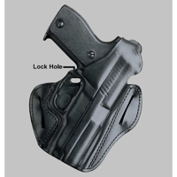 Desantis F.A.M.S. With Lock Hole Belt Holster Handed 01Lbbc7Z0