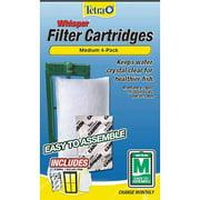 Tetra Whisper Filter Cartridges Medium, Easy-To-Assemble, 4-Count