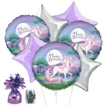 Numbers Kit Unicorn (Unicorn Fantasy Balloon Kit (Each) - Party Supplies )