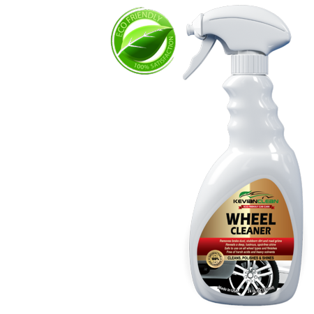 Car Wheel Cleaner by KevianClean - Best Alloy, Chrome Plated, Aluminum, Rim, Tire and Brake Dust Cleaner - High Foaming for Polishing & Dressing for Extra Shine -Easy Spray Eco-Friendly (Best Way To Clean Brake Dust From Alloy Wheels)