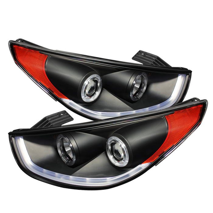 Spyder Hyundai Tucson 10-14 Projector Headlights - DRL - Black - High H1 (Included) - Low H7 (Included)