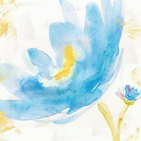 Fox V2 Print - Breeze Bloom V v2 Poster Print by Sue Schlabach