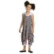 Girls Pink Black Summer Designer Trendy Spring Dress 7