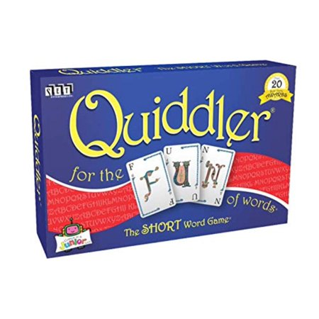 Quiddler Card Game, Quiddler, The SHORT Word Game has won over 20 Best Game Awards! By SET