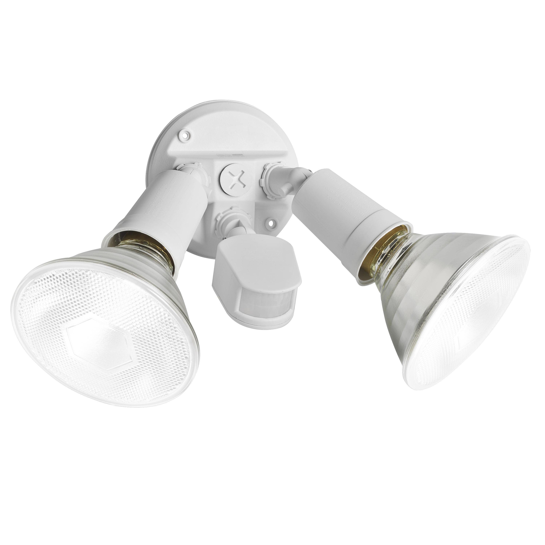 Brinks Motion Sensing Flood Light, White