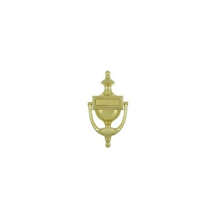 Victorian Rope Door Knocker in Polished Brass (Brass Polished Knocker)
