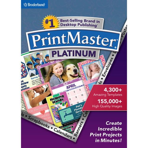 WD Encore 8129225 PrintMaster 7 Platinum for PC (Email Delivery)