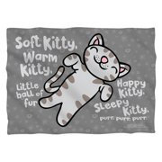 Big Bang Theory Kitty (Front Back Print) Poly 20X28 Pillow Case White One Size