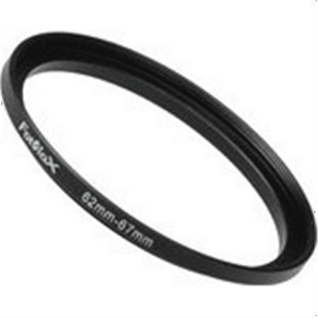Fotodiox Metal Step Up Ring Filter Adapter, Anodized Black Aluminum 62mm-67mm, 62-67 (Fotodiox Metal Step)