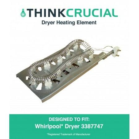 Dryer Heating Element Whirlpool & Kenmore 3387747, 8527865 & AP2947033