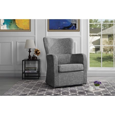 Modern Swivel Armchair Rotating Accent Chair For Living