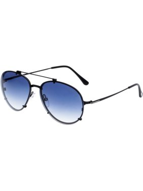 526cd8aae7 Product Image Tom Ford Gradient Dickon FT0527-01W-59 Black Aviator  Sunglasses