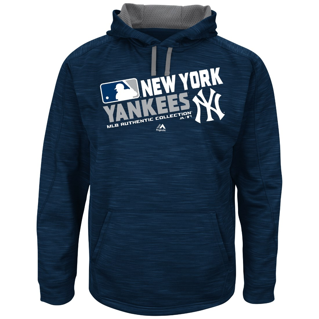 "New York Yankees Majestic MLB ""Team Choice"" On-Field Hooded Sweatshirt"