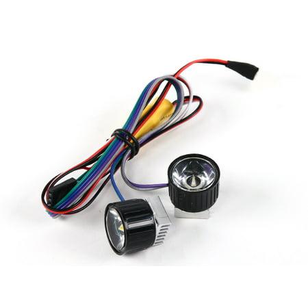 - HobbyFlip Turnigy High Power Headlight LED Light Reflector System for RC Aircraft