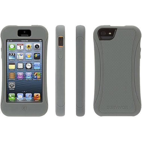 Griffin Survivor Slim for Apple iPhone 5 (Grey) - GB36313