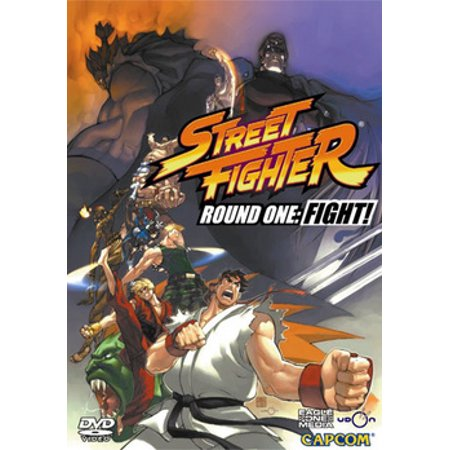Street Fighter Round One: Fight! (DVD) (Street Fights Knockouts Best 2019)