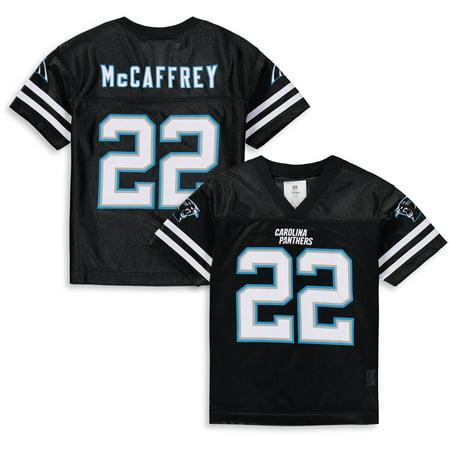 superior quality 0e7e8 36ccb Youth Christian McCaffrey Black Carolina Panthers Player ...