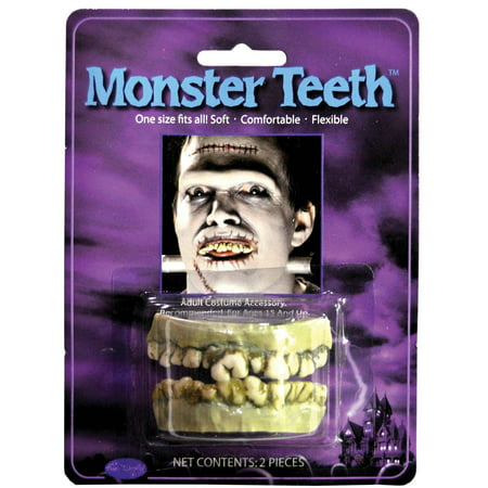 Monster Teeth Adult Halloween Accessory