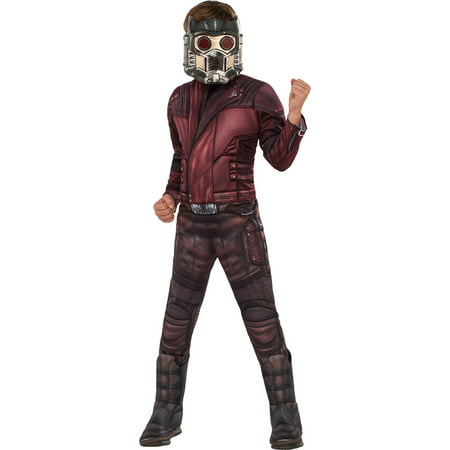 Guardians of the Galaxy Vol. 2 - Star-Lord Deluxe ChildCostume](Lord Business Costume)