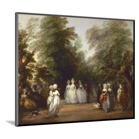 The Mall in St. James's Park Wood Mounted Print Wall Art By Thomas (U Town Mall)