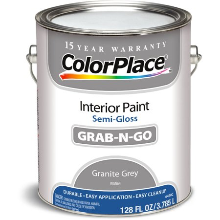 Colorplace Granite Gray Semi Gloss Interior Paint 1 Gallon