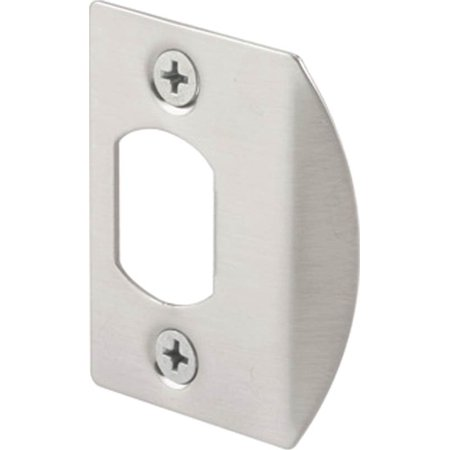 Door Strike Plate Satin Nickel