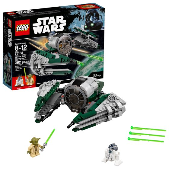 Lego Star Wars Tm Yodas Jedi Starfighter 75168 Walmart