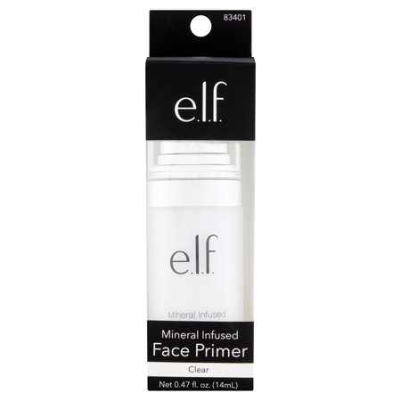 E L F  Cosmetics Mineral Infused Face Primer  0 49 Oz