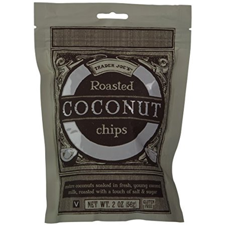 Trader Joe's Roasted Coconut Chips - 2 Pack (Trader Joe's Halloween Food)