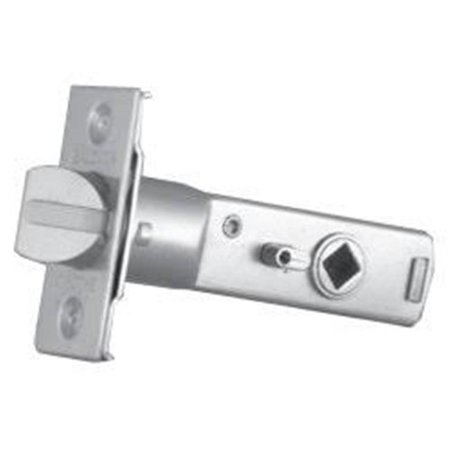 Baldwin 5512260 1.12 in. Estate Front Passage Latch, Polished Chrome