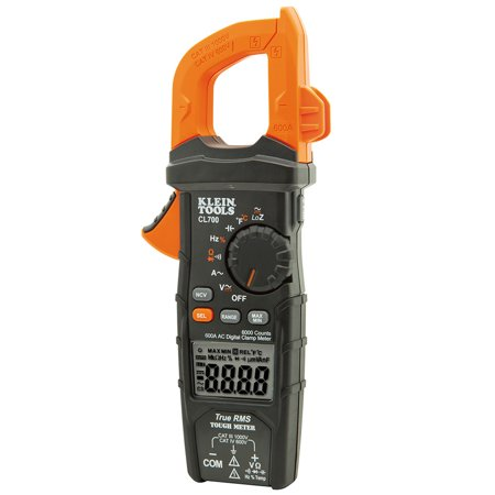Clamp Meter,Digital,LCD,6000uF,TRMS KLEIN TOOLS CL700 ()