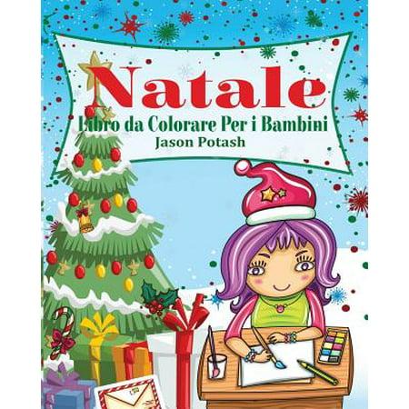 Natale Libro Da Colorare Per I - Colorare Halloween Bambini