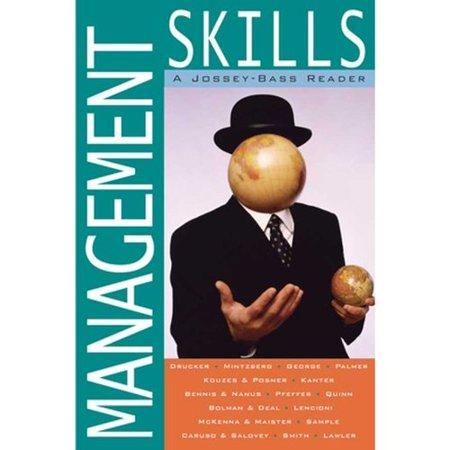 Management Skills: A Jossey-Bass Reader by