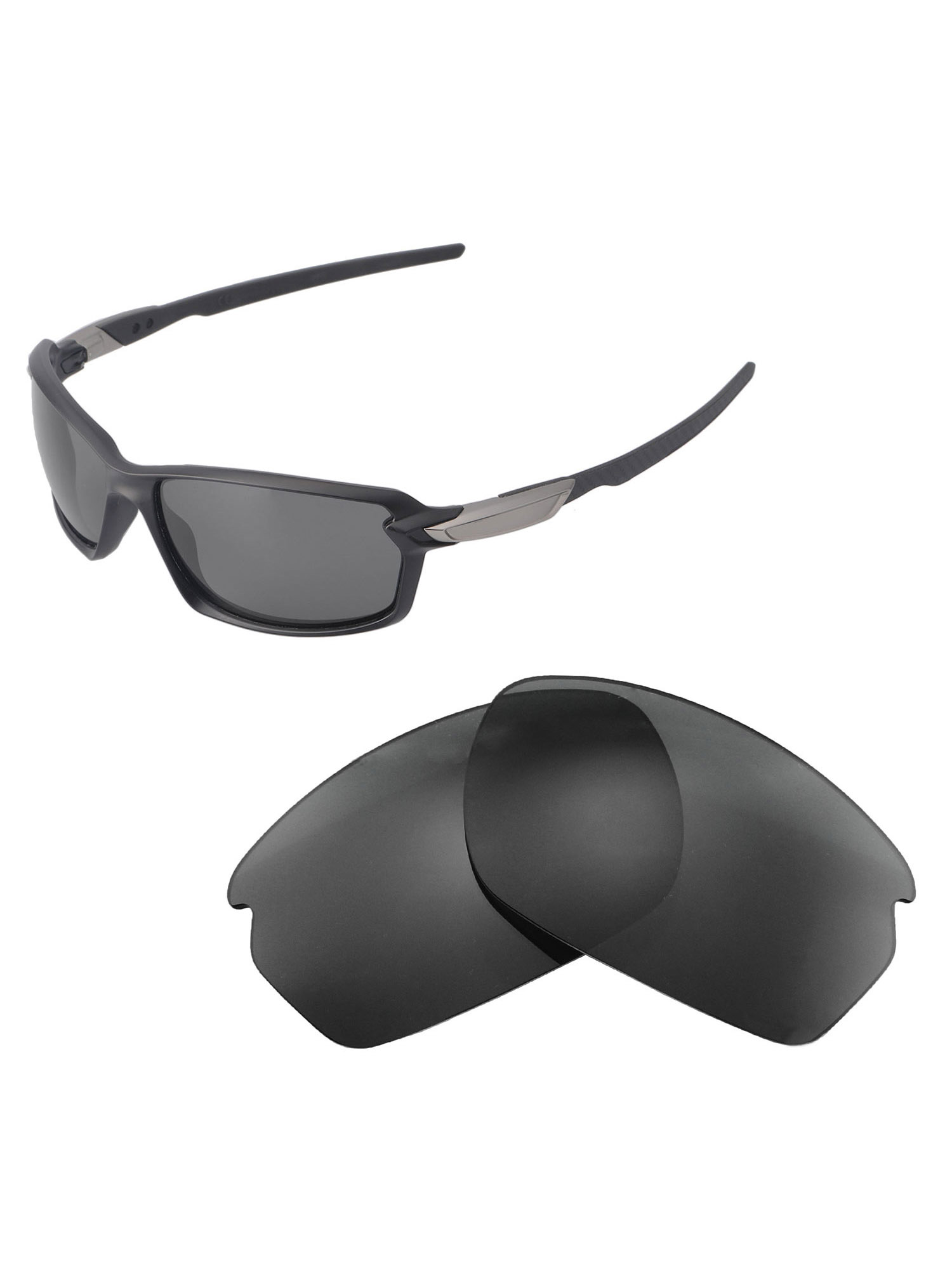 3697a7ffa8395 Walleva - Walleva Ice Blue Replacement Lenses for Oakley Carbon Shift  Sunglasses - Walmart.com