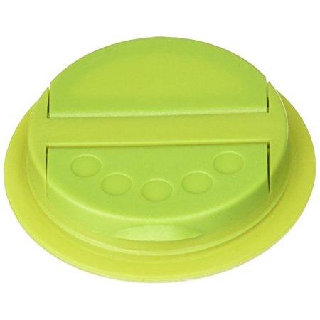 Jarware 82625 Spice Lid for Regular Mouth Mason Jars, Green ()
