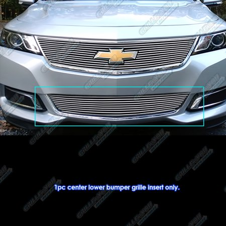 Fits 2014-2019 Chevy Impala Lower Lower Bumper Billet Grille Insert #C65946A Chevrolet Impala Grille Replacement
