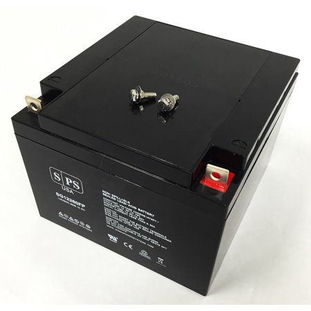 SPS Brand 12V 26Ah Replacement battery for Lawn Mower Black & Decker CM500 TYPE1