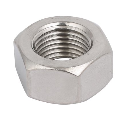 4pcs M16 x 1.5mm Pitch Metric Fine Thread 304 Stainless Steel Hex Nuts - image 1 of 3