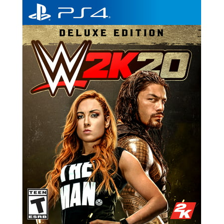 WWE 2K20 Deluxe Edition, 2K, PlayStation 4