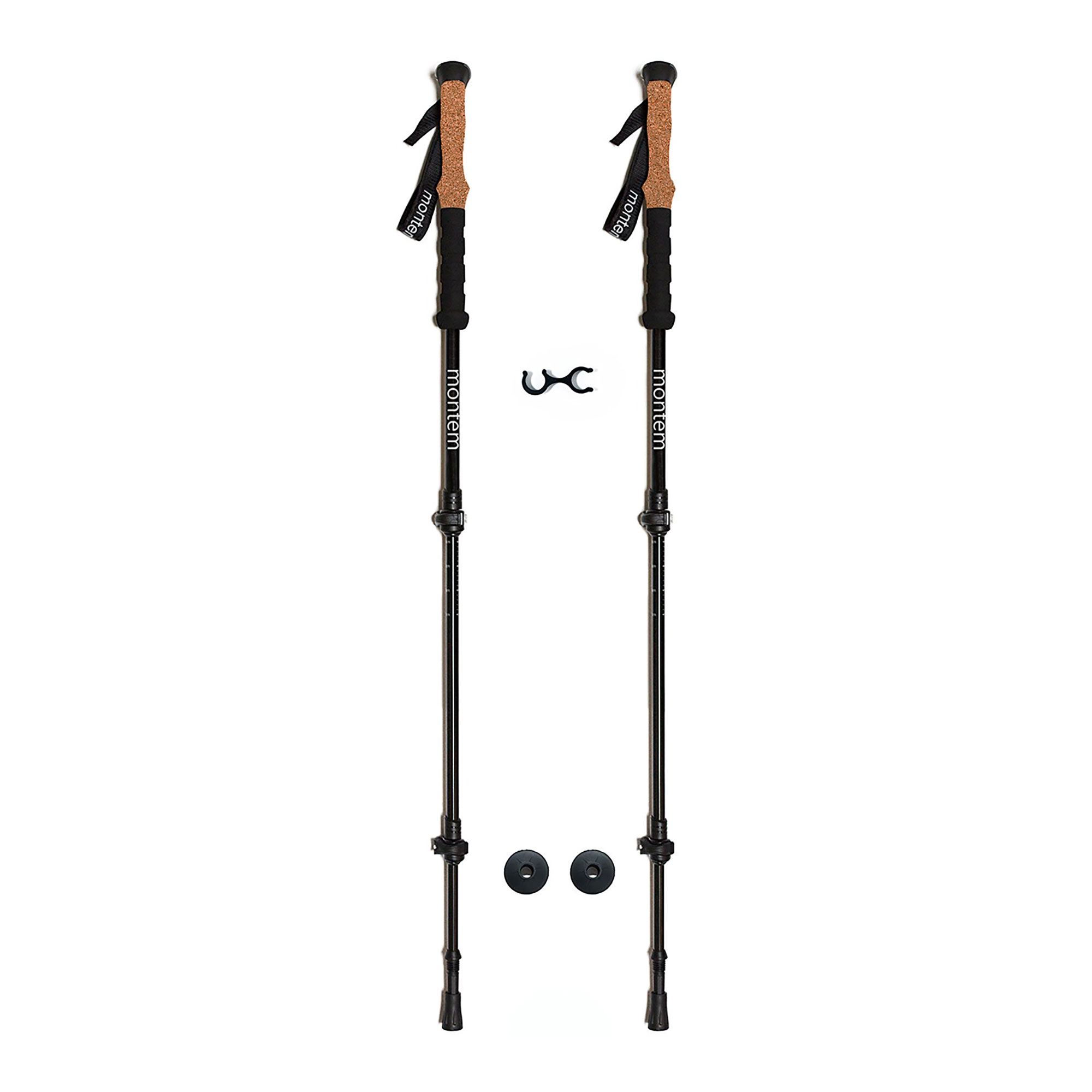 Montem Ultra Strong Anti-Shock Hiking   Walking   Trekking Poles One Pair by