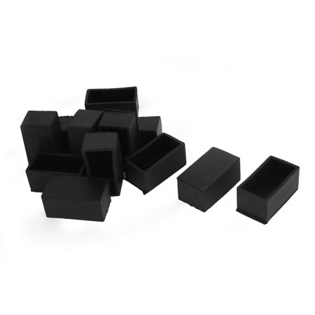 Unique Bargains 50x25mm Furniture Chair Leg Feet Floor Rubber Protectors Ferr