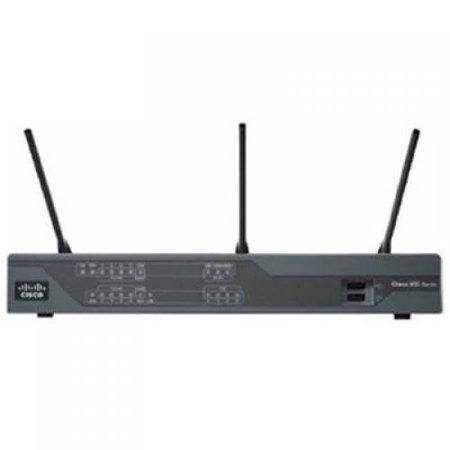 Building A Cisco Wireless Lan (Cisco 891W Gigabit Ethernet Wireless Security Router - 8 x 10/100Base-TX LAN, 1 x 10/100Base-TX WAN, 1 x 10/100/1000Base-TX WAN - IEEE 802.11n (draft) - 54Mbps )