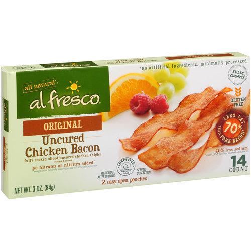 Image of Al Fresco Original Uncured Chicken Bacon, 3 oz